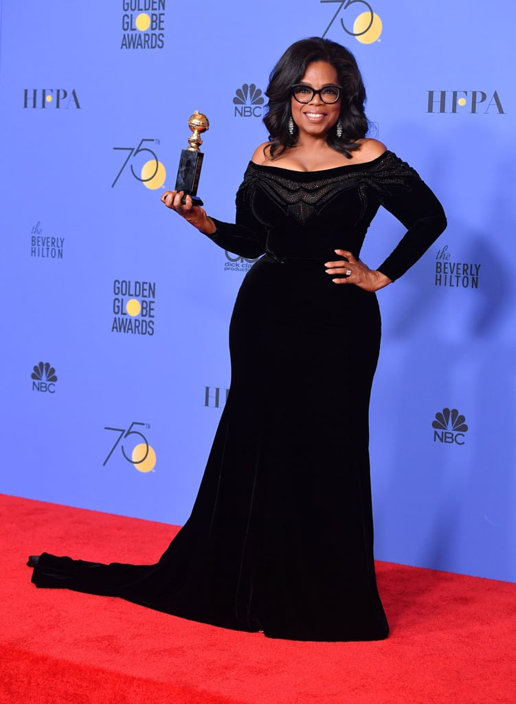 Twitter Reactions to Oprah's Golden Globes Speech 2018