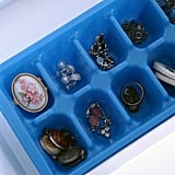 Ice Cube Trays as Jewelry Storage