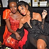 Danai Gurira and Susan Kelechi Watson at the 2019 Golden Globes Afterparty