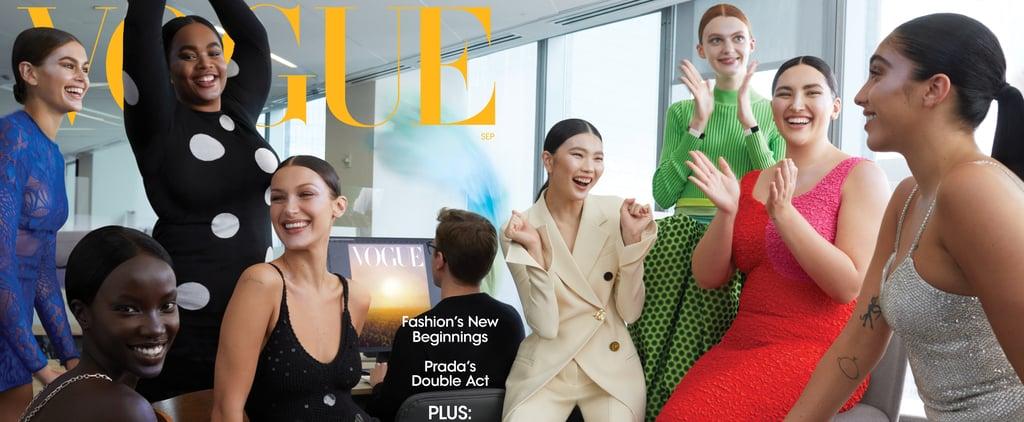 Vogue's September Cover Shows Fashion Model Representation