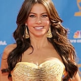 Sofia Vergara's Cascading Waves