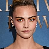 Cara Delevingne's Watercolor Shadow