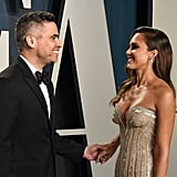 Cash Warren and Jessica Alba at the Vanity Fair Oscars Afterparty