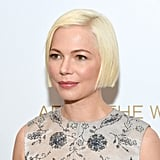 Michelle Williams's Sleek Bob Haircut