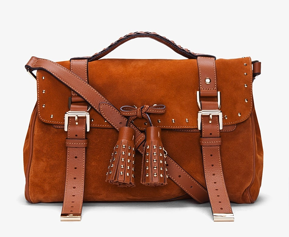 We love that Mulberry's brown suede tassel bag ($1,155, originally $1,650) is part preppy, part cool. And those studded tassels are the perfect finishing touch.