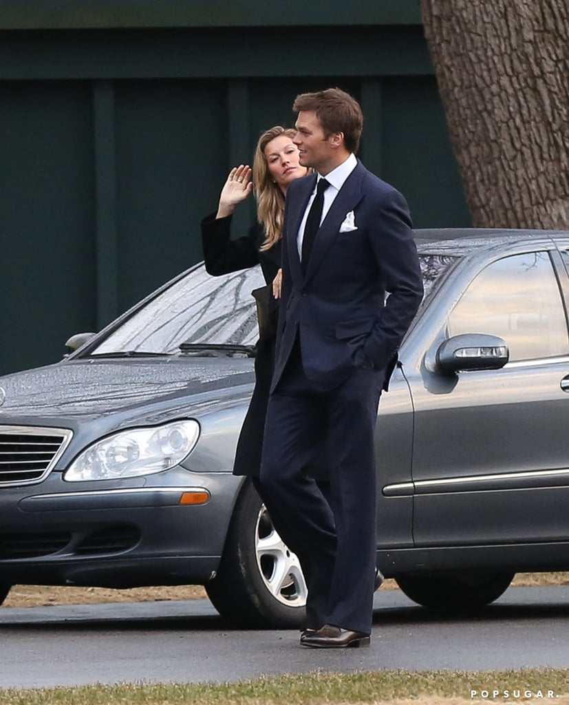 Tom Clears the Way For His Date With Gisele