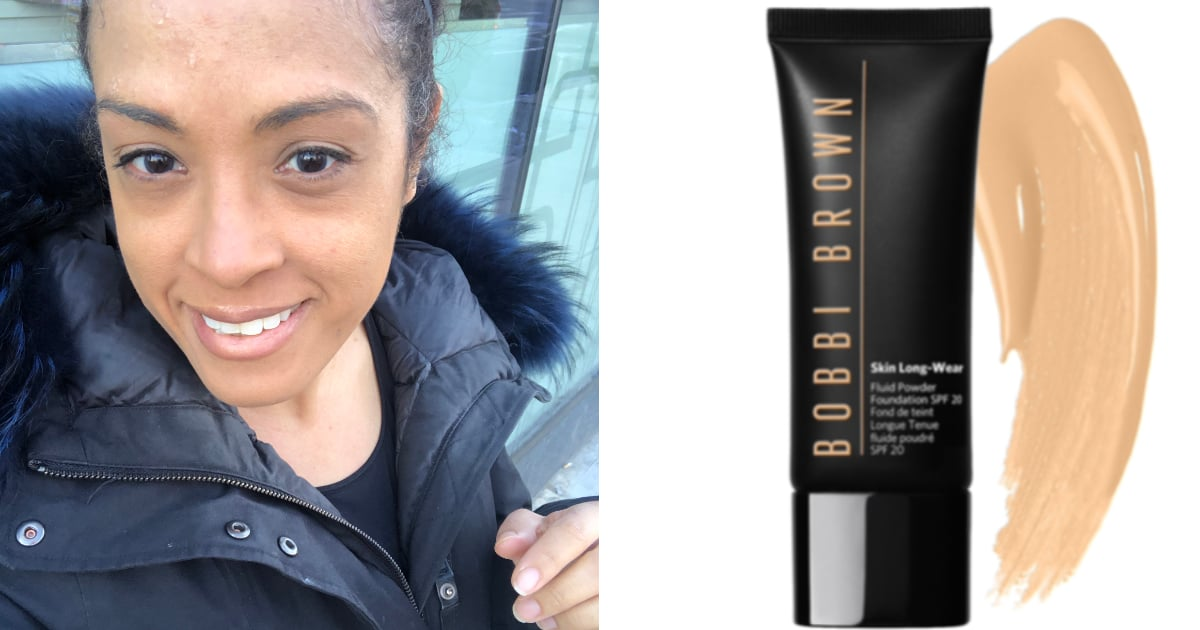 Bobbi Brown Skin Long Wear Fluid Powder Foundation Review Popsugar Beauty