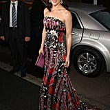 Crown Princess Mary of Denmark wearing Julie Fagerholt.