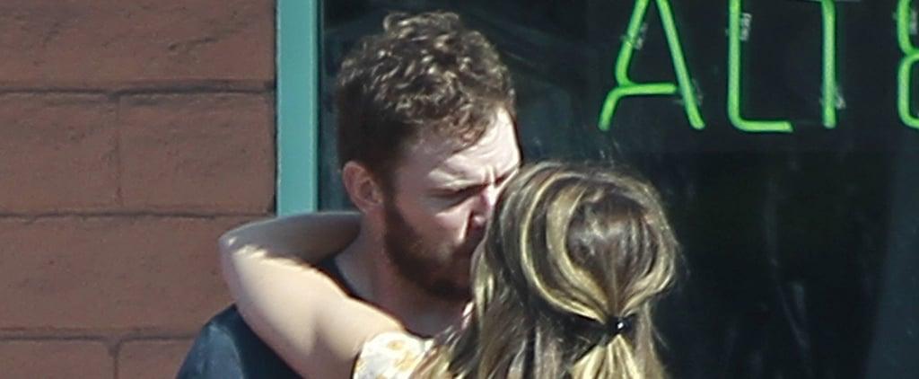 Chris Pratt and Katherine Schwarzenegger Kissing July 2018
