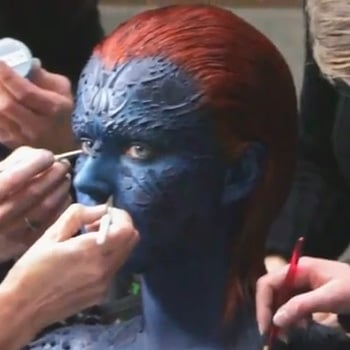 How Jennifer LawrenceGot Transformed into Mystique in X-Men: First Class