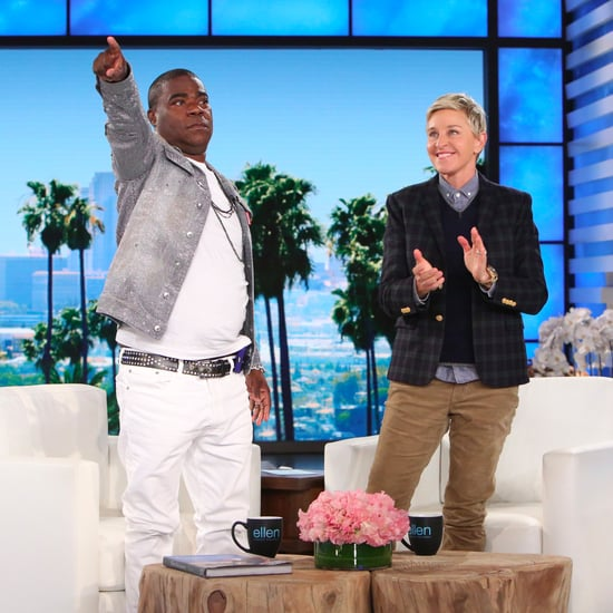 Tracy Morgan on The Ellen DeGeneres Show February 2017