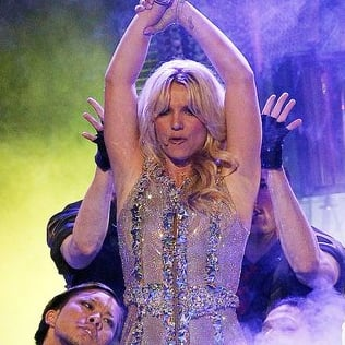 Pictures of Britney Spears Good Morning American Concert in San Francisco