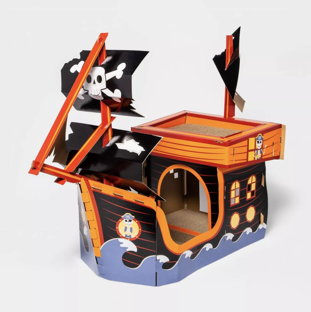 Target's Halloween Pirate Ship Cat Scratchers Are So Spooky