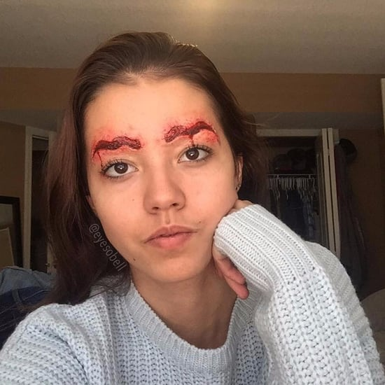 SFX Bloody Ripped-Out Eyebrow