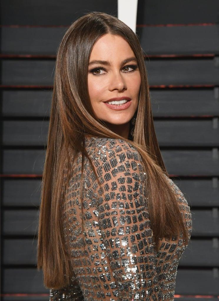 Sofia Vergara's Dark Brown Hair