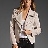 We're in love with this cream-colored asymmetrical Kain wool jacket. The moto-inspired shape ensures a flattering silhouette, plus it's just a cool wardrobe must. Kain Decca Jacket ($218, originally $396)