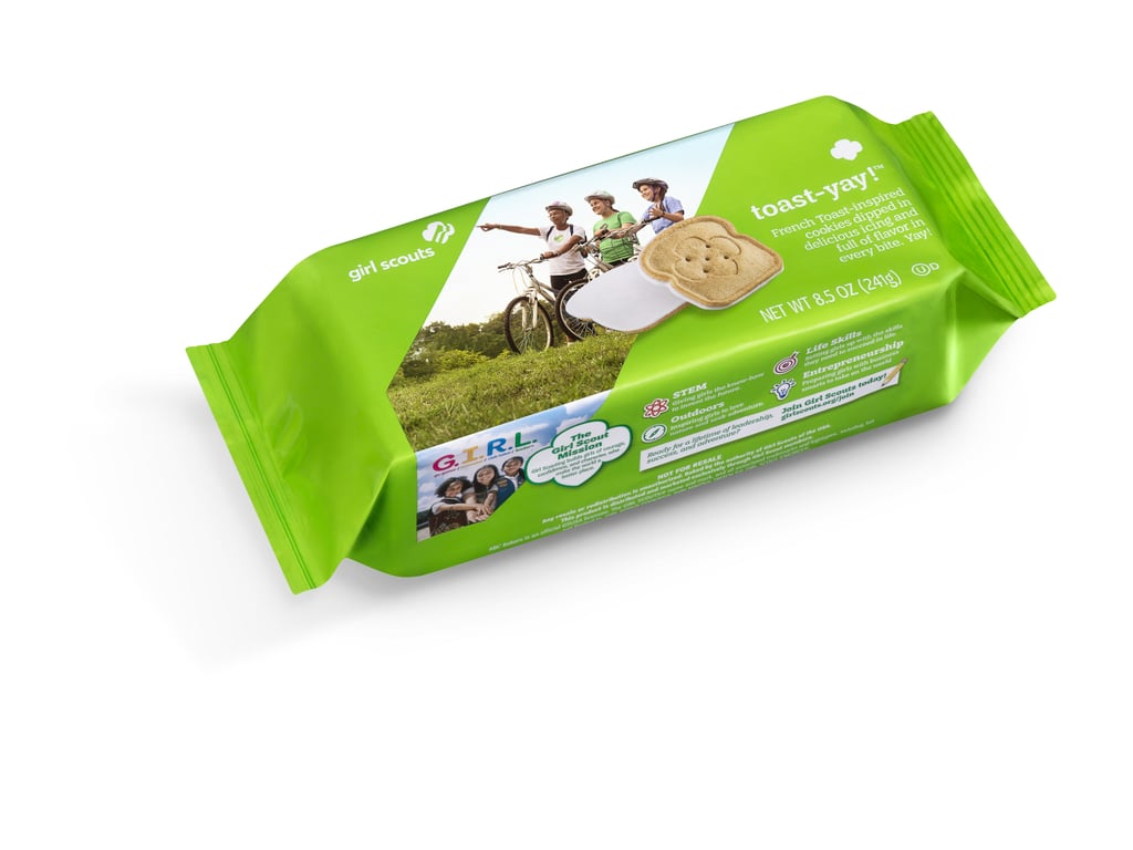 Girl Scouts Toast-Yay! Cookies