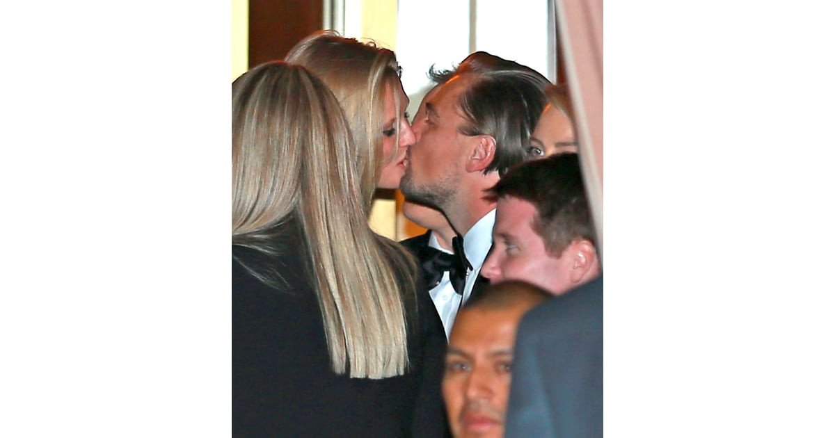 Leonardo DiCaprio Kissing Toni Garrn | POPSUGAR Celebrity ...
