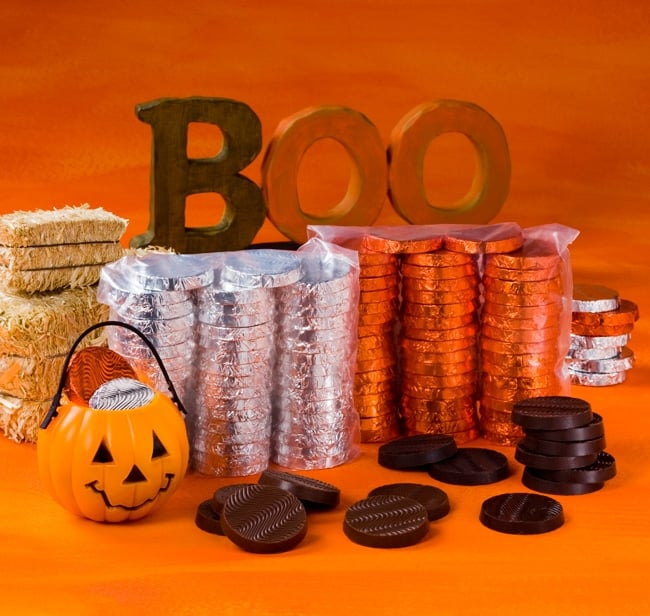 Sweet Earth Trick or Treat Chocolates ($50 for 100 pieces)
