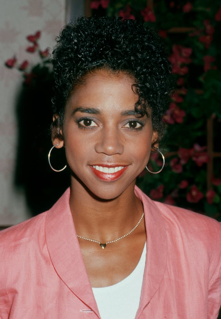 Holly Robinson Peete S Tight Curls 1988 Emmys Hair And