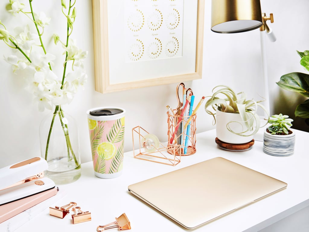 Accent Your Workspace With Tropical Touches