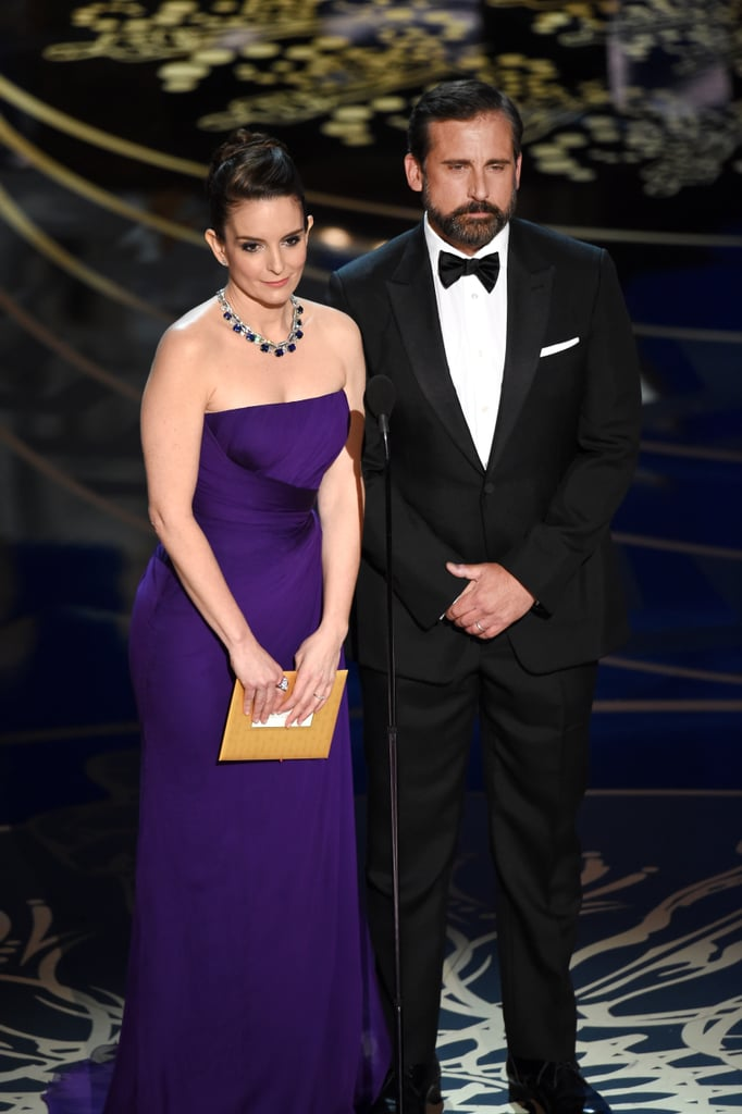 Tina Fey and Steve Carell Presented Together