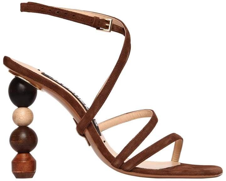 10d90707265 Jacquemus Rumba Suede Sandals
