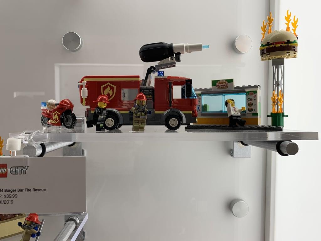 Lego City Fire Burger Bar Fire Rescue | Best New Lego Sets