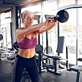 20-Minute Cardio, Kettlebell, Wall Ball, and Box Jump Workout