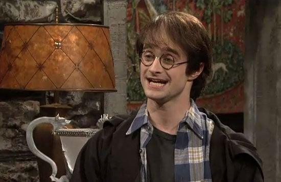 Harry Potter Book Monologues : Harry potter monologue daniel radcliffe snl popsugar