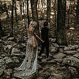 Romantic Wedding Vow Renewal in Alabama Mountains