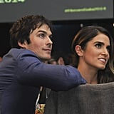 The couple sat close at a charity event in LA in November 2014.