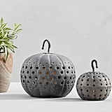 Galvanized Metal Pumpkins