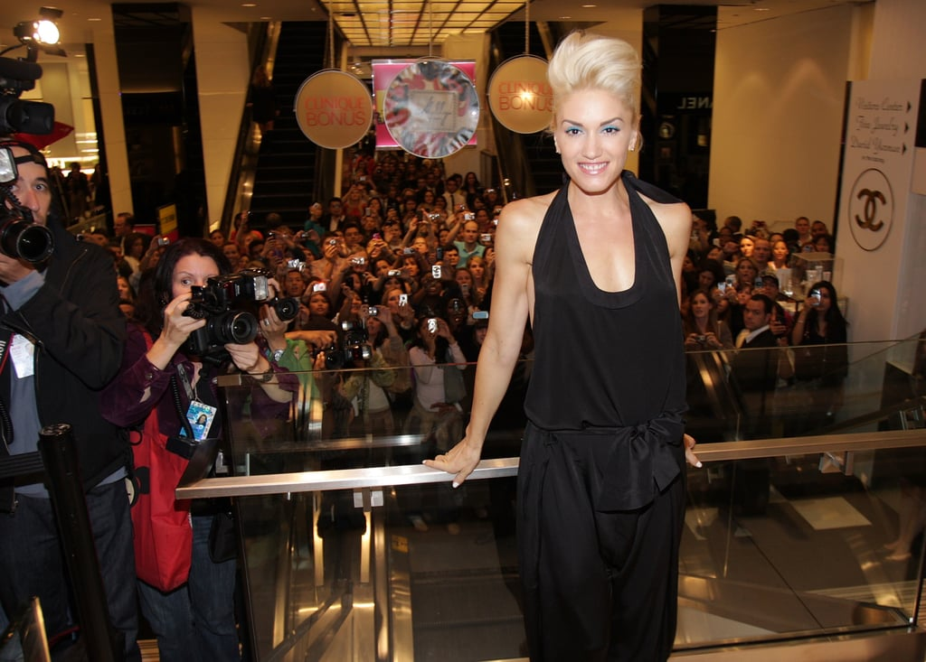 Gwen Stefani at Bloomingdales