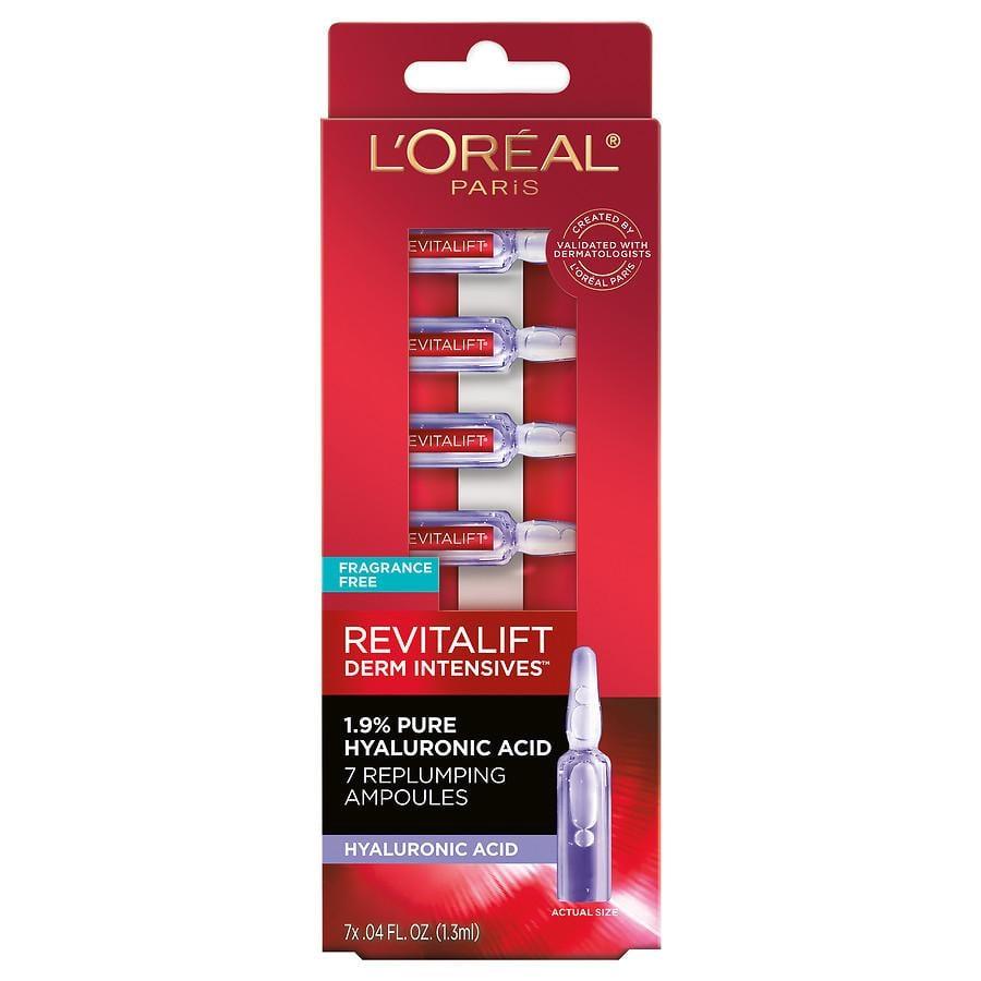 L'Oréal Paris Pure Hyaluronic Acid 7 Replumping Ampoules