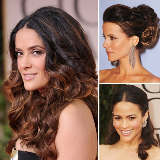 red carpet hair styles hair secrets of the golden globes popsugar 3252 | Celebrity Hair Secrets Golden Globes