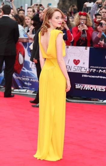 fashionEmma-Stone-Yellow-Dress-La-La-Land