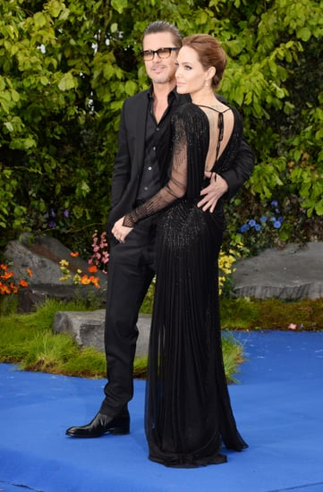 celebrityAngelina-Jolie-Brad-Pitt-Maleficent-Event-London