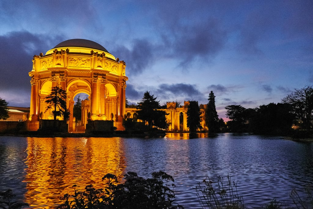 Walk Around The Palace Of Fine Arts At Night Best Things To Do In