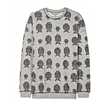 Mulberry Monster Print Sweater