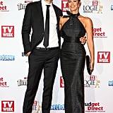 Shaun Hampson and Megan Gale, May 2015