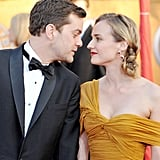 Inglourious Basterds star Diane Kruger was escorted to the 2010 awards by her then-boyfriend, Joshua Jackson.