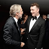 Even the President of the Recording Academy, Neil Portnow, Grabbed a Moment . . .