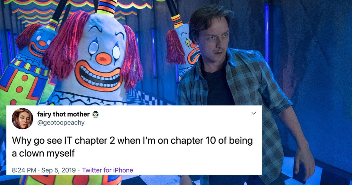 Funny Tweets And Memes About It Chapter Two Popsugar Entertainment