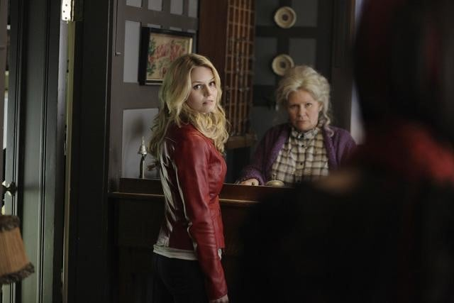 Jennifer Morrison and Beverly Elliot on ABC's Once Upon a Time.