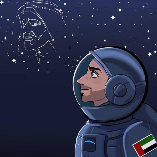 إصدار طابع تذكاري احتفاءً بانطلاق أول رائد فضاء إماراتي 2019