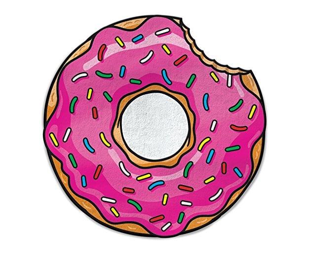 BigMouth Inc. Gigantic Pink Donut Beach Blanket ($25)