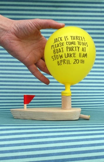 Lil Links: Set Sail For a Birthday With DIY Boat Invites