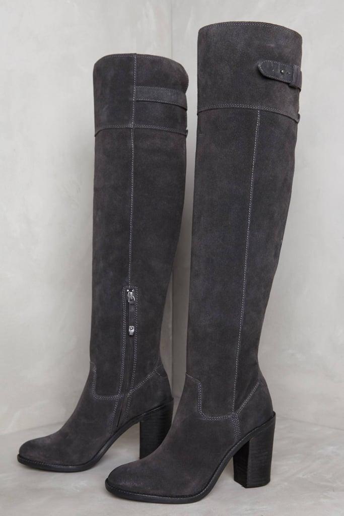 Dolce Vita Okana Boots Dark Grey 6 Boots ($280)