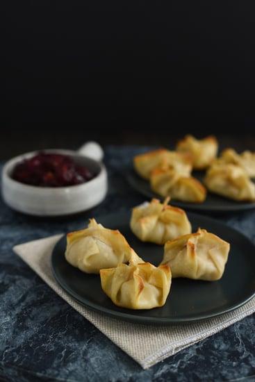 Thanksgiving Leftovers Dumplings